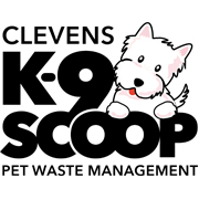 Clevens K-9 Scoop, Pet Waste Management logo
